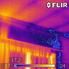 Leak from deck above-Weathertightness